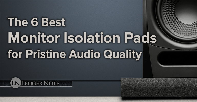 the 6 best monitor isolation pads for pristine audio quality