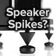 spikes for speakers and stands