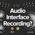 audio interface recording