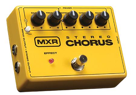 guitar chorus pedal