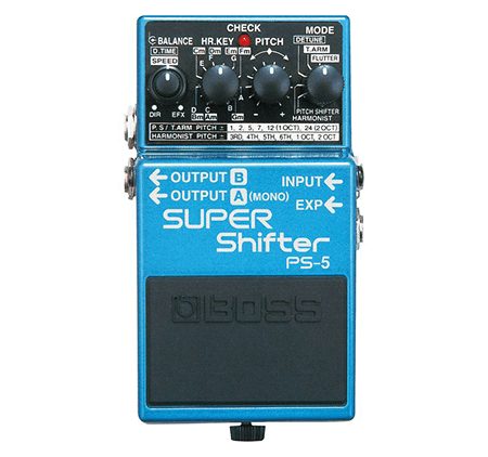 guitar pitch shifter pedal