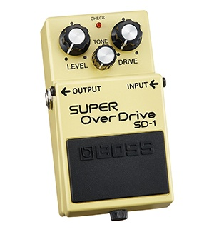 Boss SD-1 Super Overdrive guitar pedal