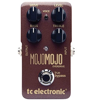 TC Electronic MojoMojo overdrive pedal for guitar