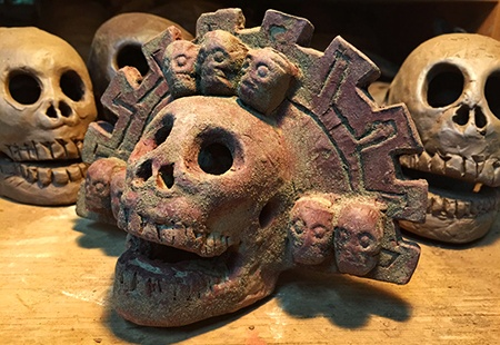 aztec death whistle - weird musical instruments