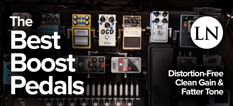 best boost pedals