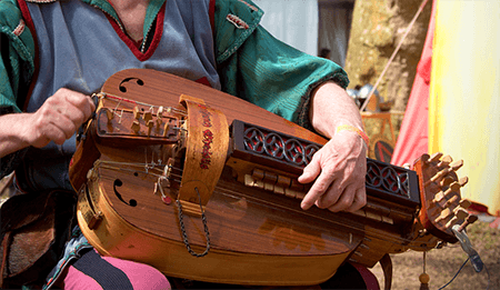 hurdy-gurdy - uncommon instruments