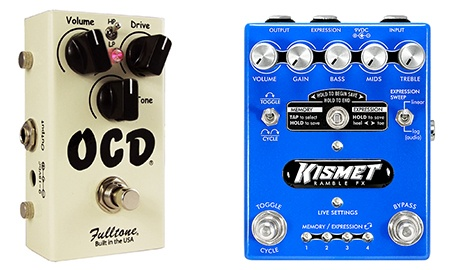 simple versus complex overdrive pedals