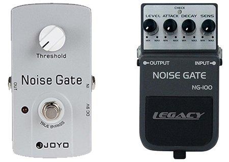 simple versus complex noise gate pedals