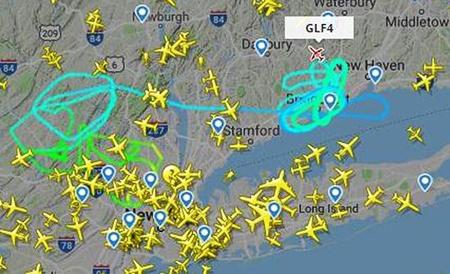 Post Malone Flight Tracker GLF4