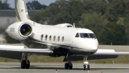 Post Malone Gulfstream-IV Plane