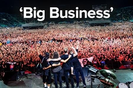 metallica big business
