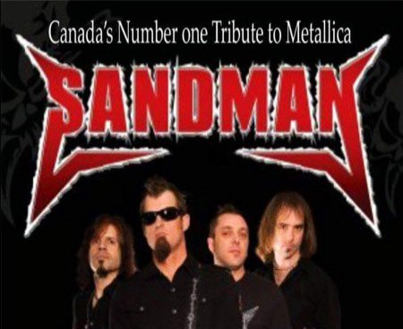 sandman metallica cover band