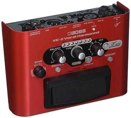Boss VE-2 Vocal Harmonist Harmonizer Pedal