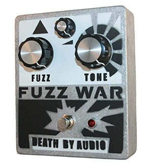 Death by Audio Fuzz War pedal