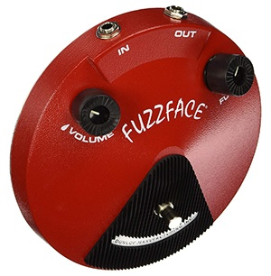 Dunlop JDF2 Fuzz Face pedal