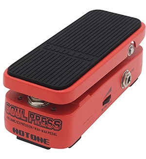 Hotone Soul Press 3 in 1 Mini Volume Wah Expression Effects Pedal