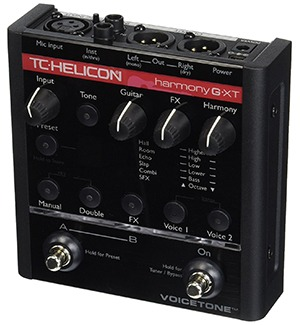 TC Helicon VoiceTone Harmony G-XT Vocal Effects Processor