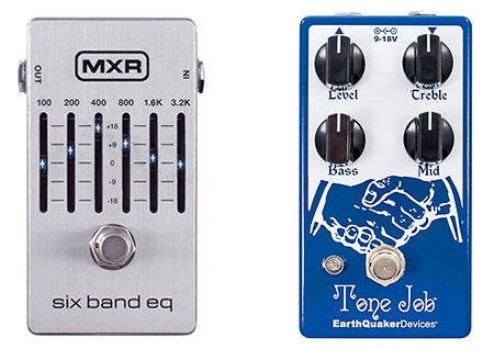 graphic eq guitar pedal vs three band eq pedal