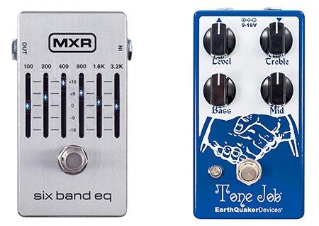 graphic eq guitar pedal vs three band eq pedal
