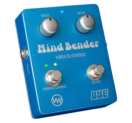 BBE Mind Bender Dual-Mode Analog Vibrato Chorus