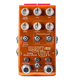 Chase Bliss Warped Vinyl HiFi Vibrato