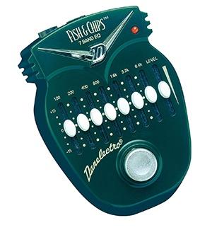 Danelectro DJ-14C Fish & Chips 7 Band EQ Mini Effects Pedal