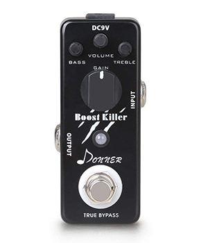 Donner True Bypass Boost Killer Guitar Effect Pedal