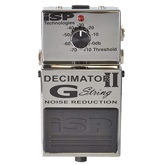 ISP Technologies Decimator II G String Noise Suppressor Pedal