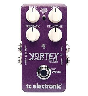 TC Electronic Vortex Flanger Pedal