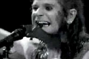 ozzy biting a bat's head in a stupid music publicity stunt