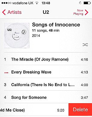 u2 itunes songs of innocence fail