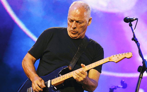david gilmour richest guitar players