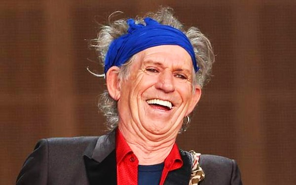 Keith Richards big money rock stars