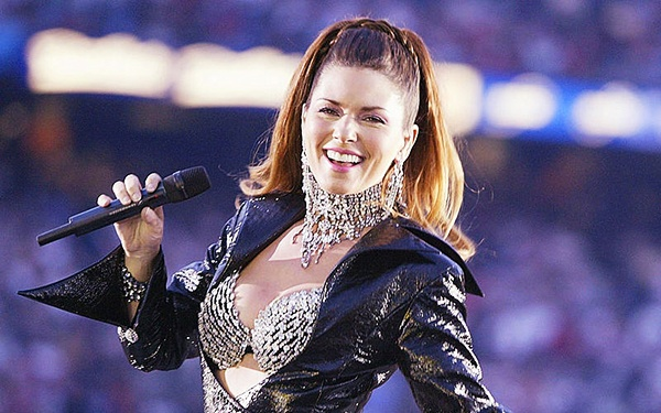 Shania Twain top 10 country singers