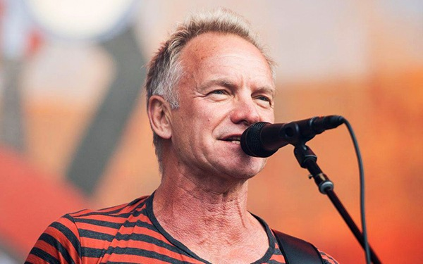 Sting richest rock starr
