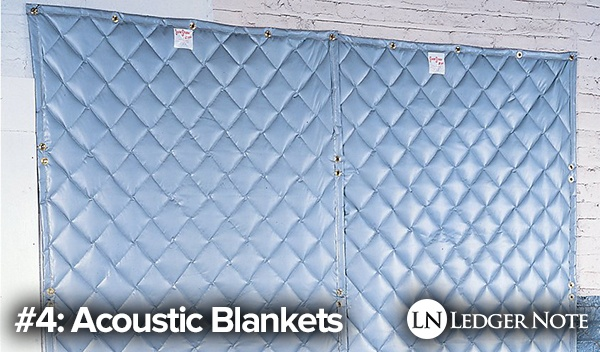 acoustic blankets diy isolation booth