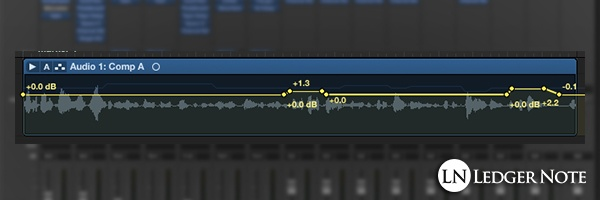 how to mix vocals tip 13 - automate volume