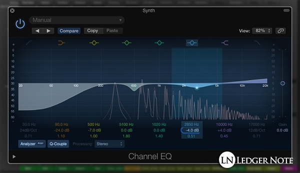 mixing vocal tracks tip 12 - carve out space with EQ