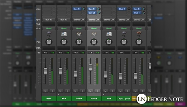 mixing vocals tip 6 - gain staging