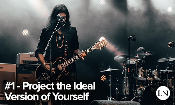 stage performance tip 1 - project the most idealized version of yourself