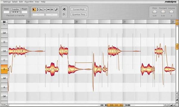 celemony melodyne pitch correction autotune
