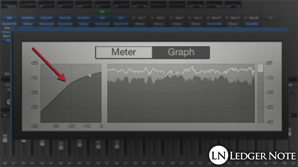 how to use a compressor on vocals - adjust the knee