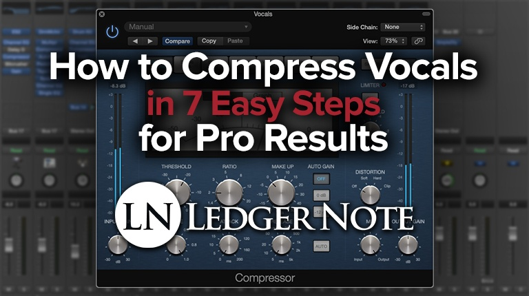 how to compress vocals