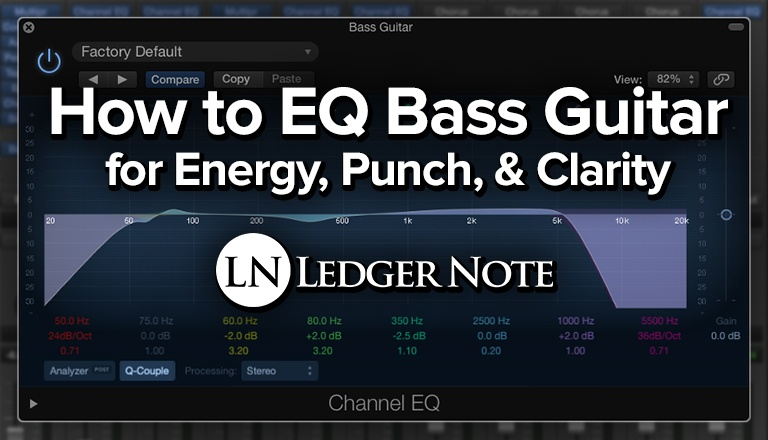 how to EQ bass guitar