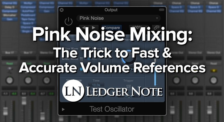 pink noise mixing