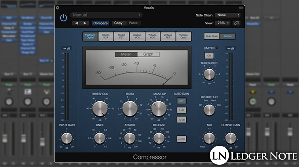 vocal compression settings