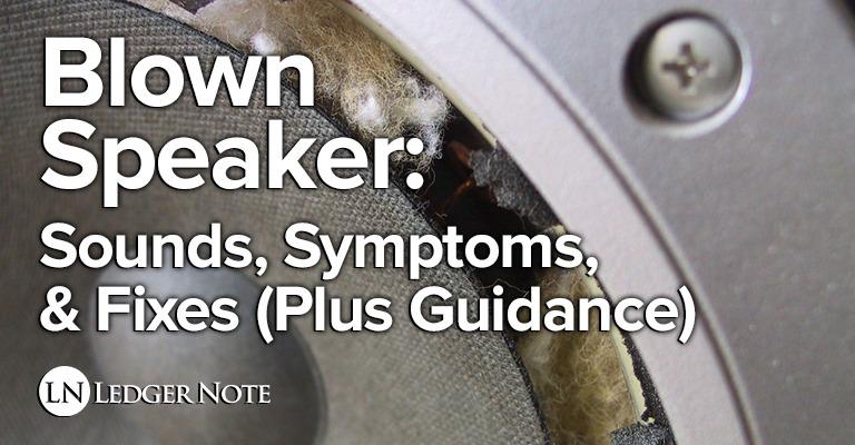 blown speaker