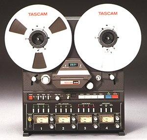 tascam reel to reel magnetic tape recorder