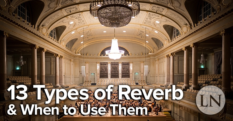 types of reverb