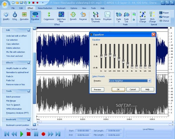 free audio editor software